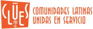 CLUES Comunidades Latinas Unidas en Servicio logo