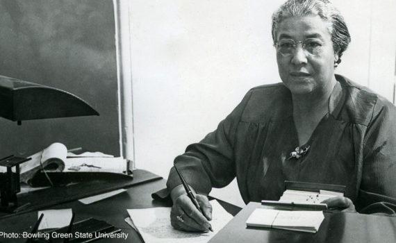 archival photo of Ella P. Stewart
